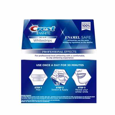 crest whitestrips professional effects verpakking